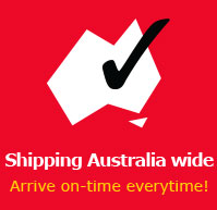 Shipping Australia wide Arrive on-time everytime!